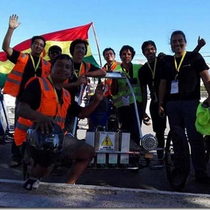Bolivia gana la Carrera Solar Atacama 2016, en Chile