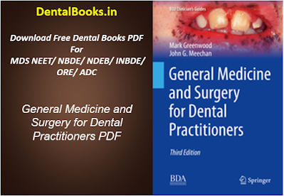General Medicine and Surgery for Dental Practitioners PDF