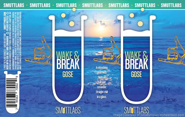 Smuttynose Adding Smuttlabs Wake & Break Gose