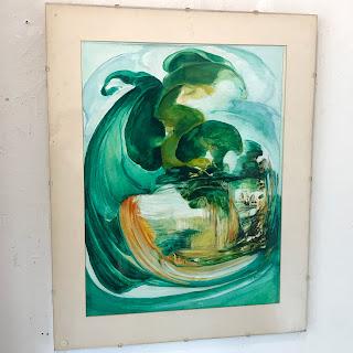 Sandra Baker Signed Painting #4