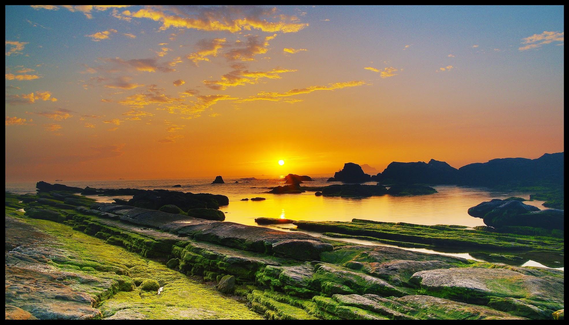日出龜吼漁港、耶穌光