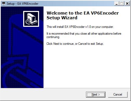 ea vp6 encoder