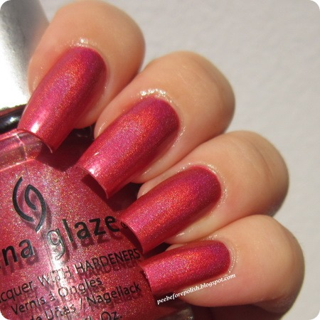 China Glaze TMI at Peebeforepolish blog