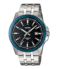 Jam Tangan Pria Analog Tali Stainless Steel Casio Standard : MTP-VS02G-9A
