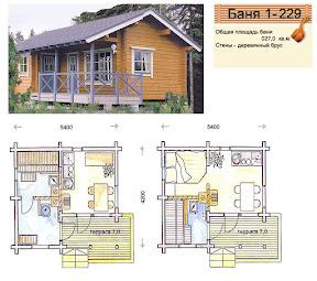 Проект бани 1 - 229