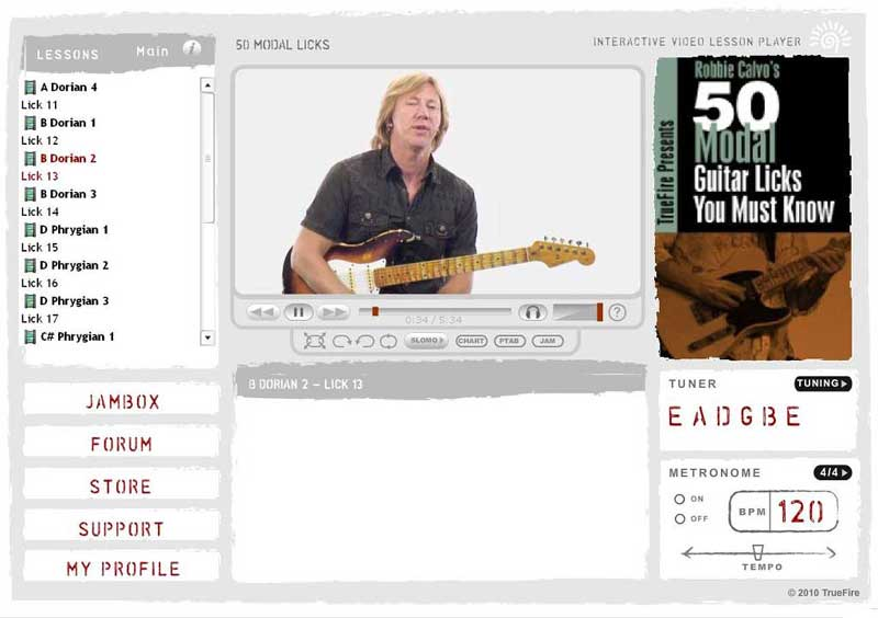 Robbie Calvo - 50 Modal Guitar Licks You Must Know