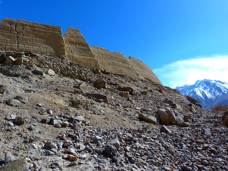 XINJIANG. Karakoram Highway, lune des plus haute route au monde, en passant a 4400 m - P1280585.JPG