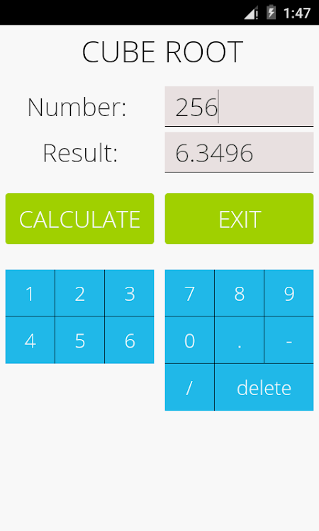 Cube Root Calculator – (Android Apps) — AppAgg