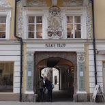palais trapp in Innsbruck, Tirol, Austria