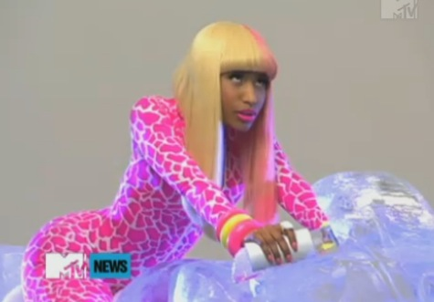 nicki minaj super bass hairstyles. Nicki Minaj Super Bass Lyrics.