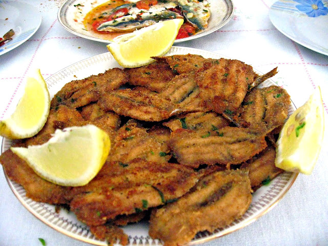 Fried Sardine Fillets (Sarde Fritte)