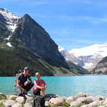 at Lake Louise, Alberta, Canada in Lake Louise, Alberta, Canada