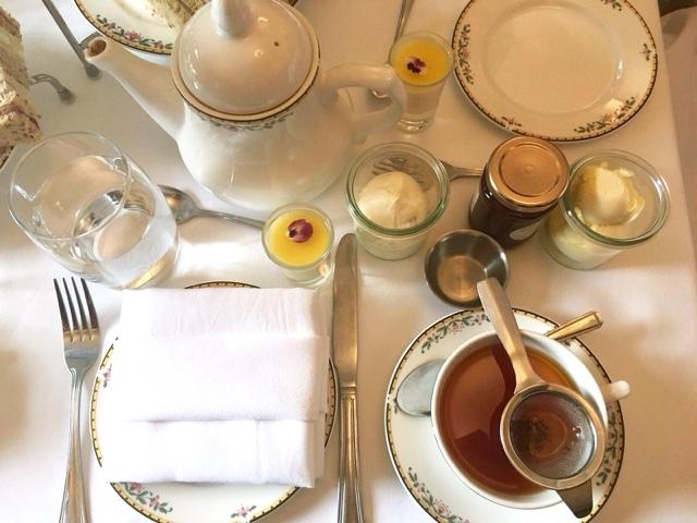 Marriott afternoon tea