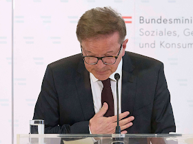 وزير الصحة النمساوي يستقيل لدواعٍ صحية ويختم بدموع وتصفيق الحاضرين