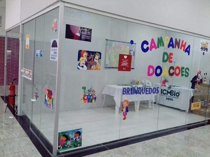 ICMBio arrecada brinquedos para crianças da Resex