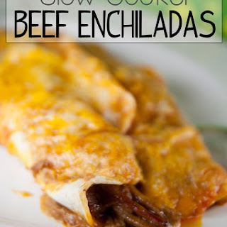 "Crock Pot Shredded Beef Enchiladas with Lay's ""Do Us a Flavor"" Contest."