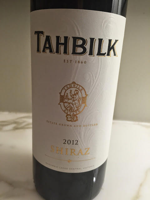 Tahbilk Shiraz 2012