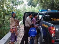 SALUT, Kanit Sabhara Polsek Sluke Polres Rembang Beri Tumpangan di Mobil Patroli Back Bone pada masyarakat desa