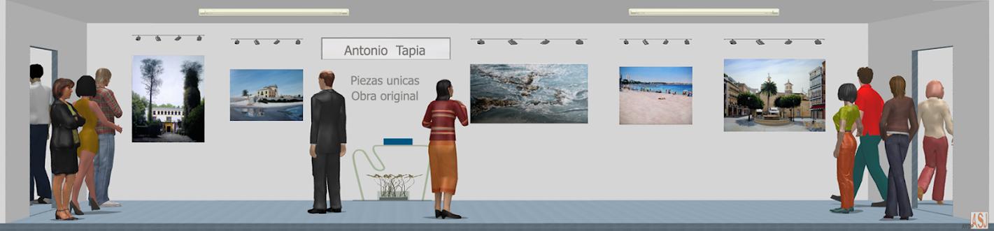 Sala de exposición virtual de Pinturas de Antonio Tapia