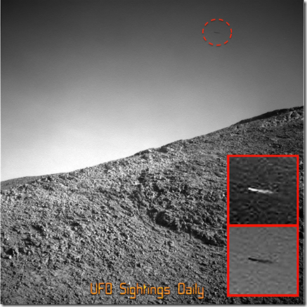 Opportunity-Rover-Photo-Sees-Flying-Object-Over-Hill-Feb-2016-Video5