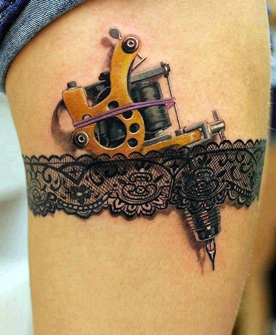 steampunk_cinta-liga_de_coxa_de_tatuagem_para_as_mulheres