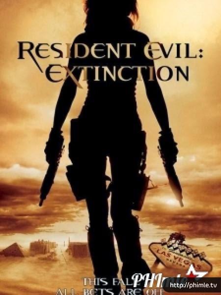 Phim Vùng đất quỷ dữ 3: Ngày tận thế - Resident Evil: Extinction - VietSub