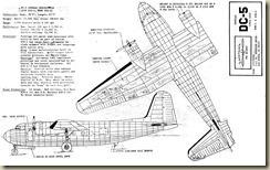 Douglas DC-5 Nostalgia Wings Dwg - 1