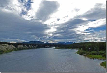 Teslin River near Johnsons Crossing, Yukon Territory