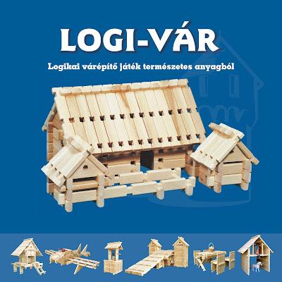 LOGI-VÁR fajáték 12 oldalas tájékoztató füzet, 1. oldal