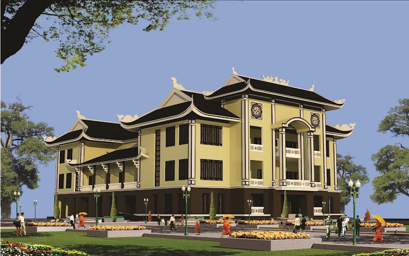Lễ đặt đá xây dựng trường Trung cấp Phật học Quảng Trị