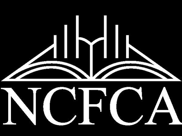 NCFCA white logo