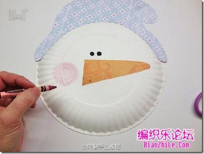 navidad manualidad con platos (4)