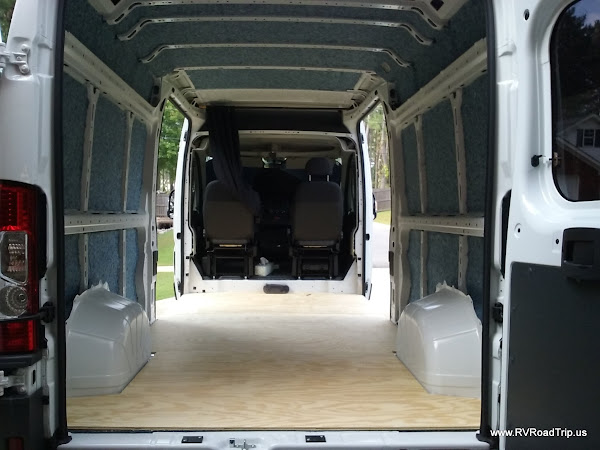 Ram Promaster Rv Camper Van Conversion Insulation And