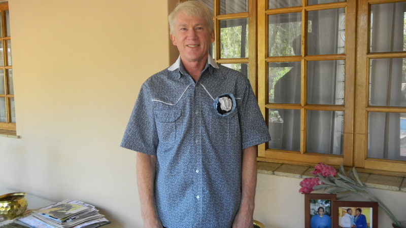 Traditional Botswana shirt