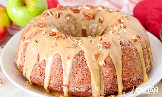 bundt cake on plate