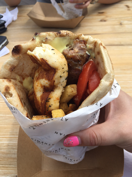 the Athenian gyros