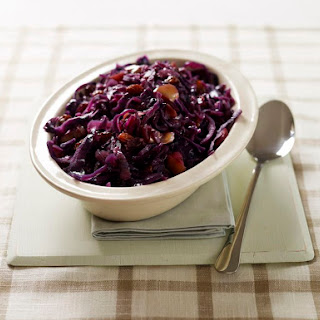 Crockpot Red Cabbage and Onions.