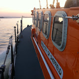 The ALB approaching the Wareham Channel - 31 October 2014. Photo credit: Dave Riley