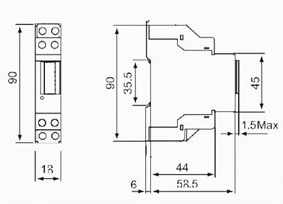 วัตต์มิเตอร์ วัดอัตราการใช้พลังงาน Watt meter 5(32)A 220V