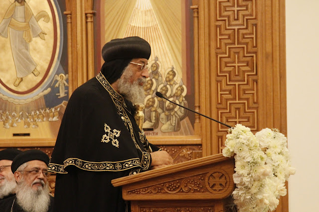 His Holiness Pope Tawadros II visit to St. Mark LA - _MG_0590.JPG