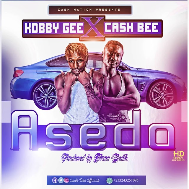 Cash Bee is all set to release his new Hitz - (ASEDA) ft. Kobby Gee.