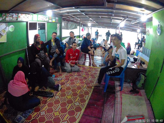 karaoke di royal belum houseboat_1