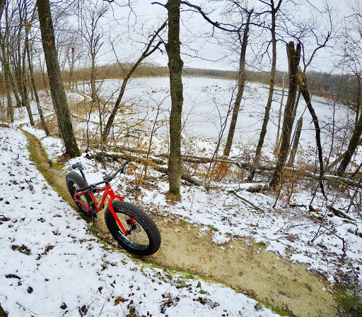 Twin Lakes singletrack, December 2nd, 2016.