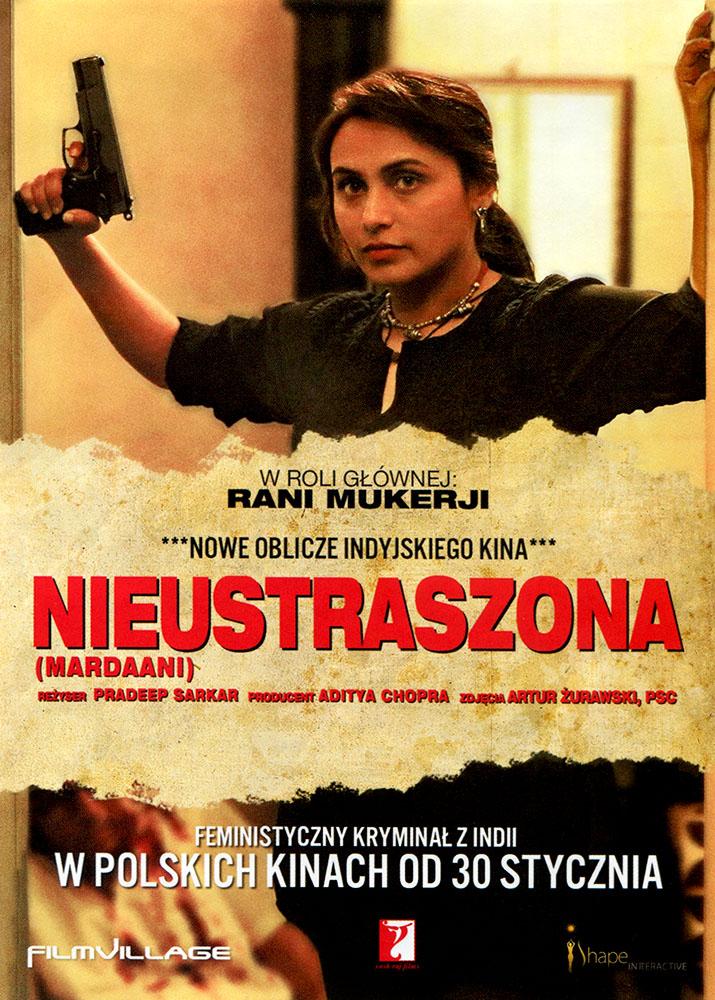 Ulotka filmu 'Nieustraszona (przód)'