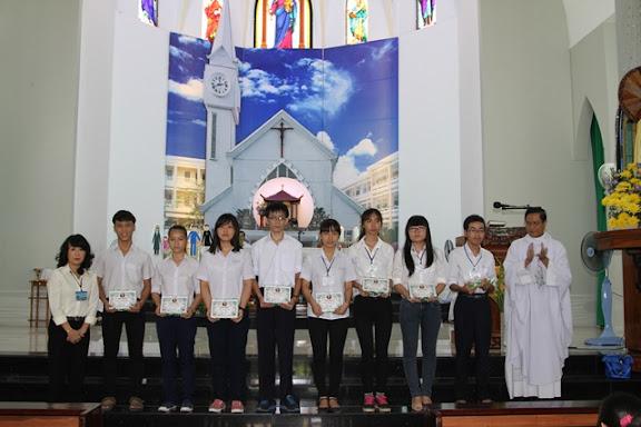 Lễ bế giảng năm học Giáo lý 2014-2015 tại Giáo xứ Bắc Thành