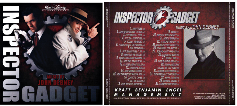 inspector gadget john debney promo score lossless flac