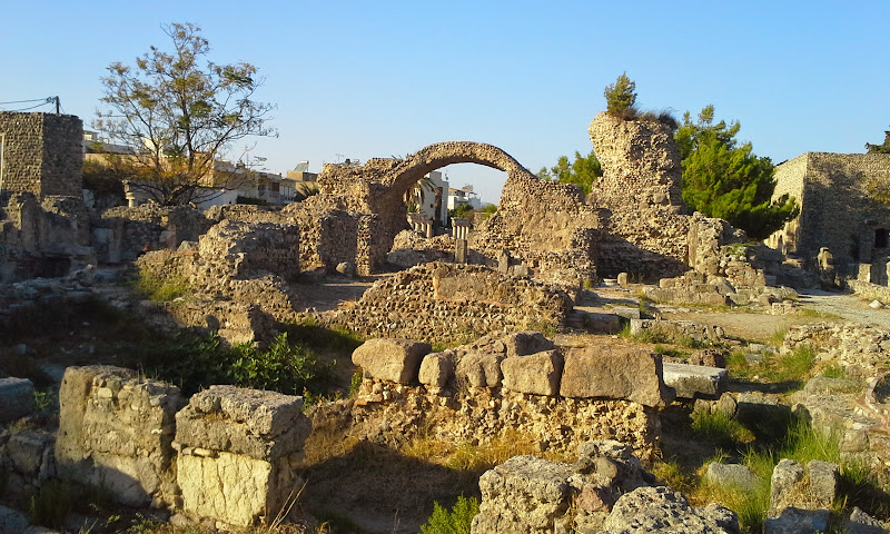 ancient Agora in Kos