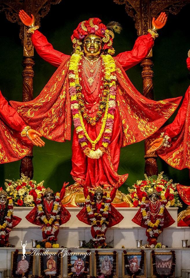ISKCON Mayapur Deity Darshan 06 Jan 2015 (15)