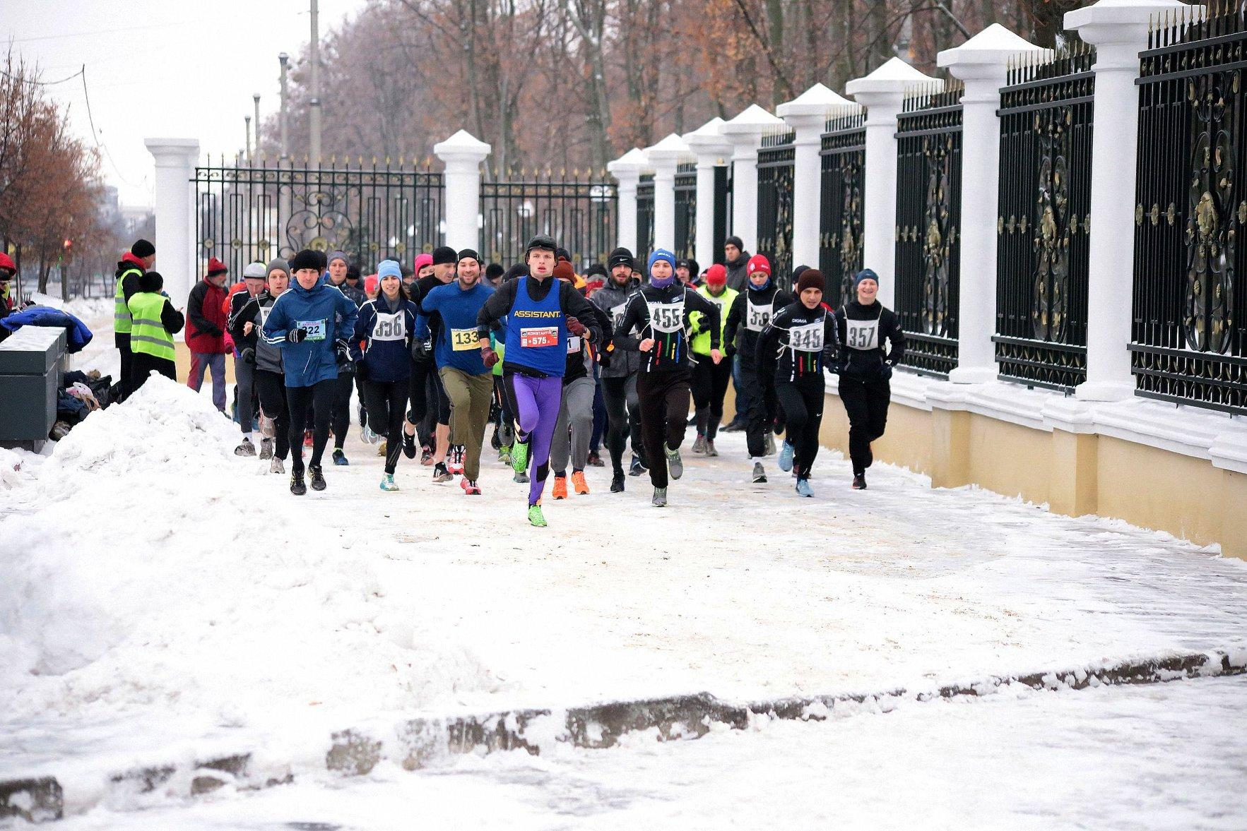 Легкоатлетичний пробіг «Назустріч зимі»