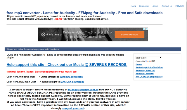 free mp3 converter   Lame for Audacity   FFMpeg for Audacity   Free and Safe downloads